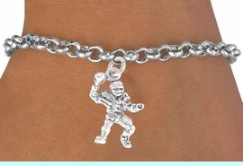 <bR>              EXCLUSIVELY OURS!!<BR>CLICK HERE TO SEE 65+ EXCITING<BR> CHANGES THAT YOU CAN MAKE!<BR>             LEAD & NICKEL FREE!!<BR>      W432SB - QUARTERBACK &<BR>      BRACELET AS LOW AS $4.50