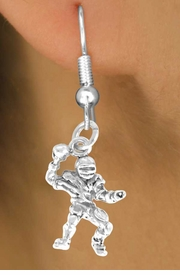 <bR>              EXCLUSIVELY OURS!!<BR>CLICK HERE TO SEE 65+ EXCITING<BR>  CHANGES THAT YOU CAN MAKE!<BR>             LEAD & NICKEL FREE!!<BR>       W432SE - QUARTERBACK &<Br>        EARRING FROM $4.50 TO $8.35