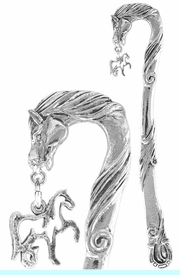 <bR>                 EXCLUSIVELY OURS!!<BR>    CLICK HERE TO SEE 65+ EXCITING<BR>     CHANGES THAT YOU CAN MAKE!<BR>                LEAD & NICKEL FREE!!<BR>W569SBM - HORSE STENCIL CHARM<Br>   BOOKMARK FROM $3.31 TO $6.25