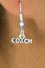 "<bR>             EXCLUSIVELY OURS!!<Br>            LEAD & NICKEL FREE!!<BR>CLICK HERE TO SEE 65+ EXCITING<BR> CHANGES THAT YOU CAN MAKE!<BR>W234SE - ""COACH"" & EARRINGS<Br>                 FROM $4.50 TO $8.35"