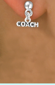 """<bR>             EXCLUSIVELY OURS!!<Br>            LEAD & NICKEL FREE!!<BR>CLICK HERE TO SEE 65+ EXCITING<BR> CHANGES THAT YOU CAN MAKE!<BR>W234SE - """"COACH"""" & EARRINGS<Br>                 FROM $4.50 TO $8.35"""
