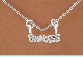 """<bR>                EXCLUSIVELY OURS!! <BR>               LEAD & NICKEL FREE!!<BR>W14483N - CHILDREN'S """"PRINCESS""""<bR>      12"""" NECKLACE AS LOW AS 3.65"""