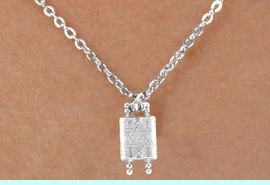 <bR>           EXCLUSIVELY OURS!! <BR>           LEAD & NICKEL FREE!!<BR>       W14498N - CHILDREN'S <br>      12 INCH CHAIN NECKLACE <br>           WITH A TORAH SCROLL<br>      CHARM FROM $3.55 TO $7.50