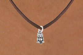 <bR>             EXCLUSIVELY OURS!!<Br>            LEAD & NICKEL FREE!!<BR>W248SN - DETAILED OWL CHARM<Br>    & NECKLACE AS LOW AS $4.50