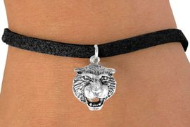 <bR>           EXCLUSIVELY OURS!!<Br>          LEAD & NICKEL FREE!!<BR>W249SB - TIGER HEAD CHARM<Br> & BRACELET AS LOW AS $4.50