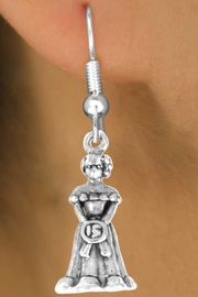 <bR>             EXCLUSIVELY OURS!!<Br>            LEAD & NICKEL FREE!!<BR>W250SE - QUINCEA&#209;ERA CHARM<Br>   & EARRINGS FROM $4.50 TO $8.35