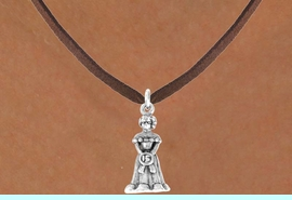 <bR>              EXCLUSIVELY OURS!!<Br>             LEAD & NICKEL FREE!!<BR> W250SN - QUINCEA&#209;ERA CHARM<Br>    & NECKLACE AS LOW AS $4.50