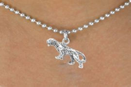 <bR>        EXCLUSIVELY OURS!!<Br>       LEAD & NICKEL FREE!!<BR>W262SN - TIGER OR BENGAL<Br>        CHARM & NECKLACE<bR>            AS LOW AS $4.50