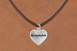 """<bR>              EXCLUSIVELY OURS!!<Br>             LEAD & NICKEL FREE!!<BR>W278SN - """"REMARKABLE"""" HEART<br>    & NECKLACE AS LOW AS $4.50"""