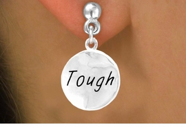 """<bR>          EXCLUSIVELY OURS!!<Br>         LEAD & NICKEL FREE!!<BR>   W279SE - """"TOUGH"""" CIRCLE<Br>& EARRINGS FROM $4.50 TO $8.35"""