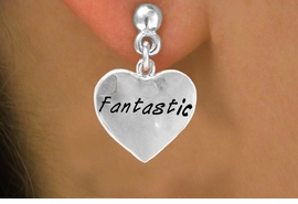 "<bR>            EXCLUSIVELY OURS!!<Br>           LEAD & NICKEL FREE!!<BR>W280SE - ""FANTASTIC"" HEART<Br> & EARRINGS FROM $4.50 TO $8.35"