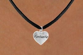 "<bR>            EXCLUSIVELY OURS!!<Br>           LEAD & NICKEL FREE!!<BR>W280SN - ""FANTASTIC"" HEART<br> & NECKLACE AS LOW AS $4.50"