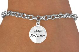 "<bR>           EXCLUSIVELY OURS!!<Br>          LEAD & NICKEL FREE!!<BR>W282SB - ""STAR PERFORMER""<BR> & BRACELET AS LOW AS $4.50"