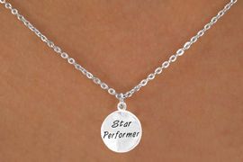"<bR>           EXCLUSIVELY OURS!!<Br>          LEAD & NICKEL FREE!!<BR>W282SN - ""STAR PERFORMER""<br>   NECKLACE AS LOW AS $4.50"