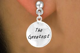 "<bR>       EXCLUSIVELY OURS!!<Br>      LEAD & NICKEL FREE!!<BR>W283SE - ""THE GREATEST""<Br>EARRINGS FROM $4.50 TO $8.35"