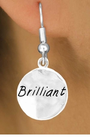 """<bR>            EXCLUSIVELY OURS!!<Br>           LEAD & NICKEL FREE!!<BR>W284SE - """"BRILLIANT"""" CIRCLE<Br> & EARRINGS FROM $4.50 TO $8.35"""