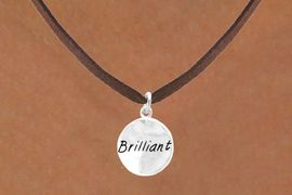 """<bR>           EXCLUSIVELY OURS!!<Br>          LEAD & NICKEL FREE!!<BR>W284SN - """"BRILLIANT"""" CIRCLE<BR> & NECKLACE AS LOW AS $4.50"""