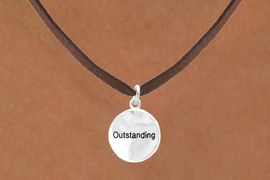 "<bR>               EXCLUSIVELY OURS!!<Br>              LEAD & NICKEL FREE!!<BR>W288SN - ""OUTSTANDING"" CIRCLE<BR>     & NECKLACE AS LOW AS $4.50"