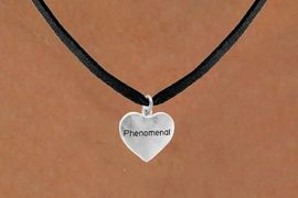 "<bR>                 EXCLUSIVELY OURS!!<Br>                LEAD & NICKEL FREE!!<BR>           W289SN - ""PHENOMENAL""<Br>HEART & NECKLACE AS LOW AS $4.50"