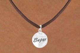 "<bR>          EXCLUSIVELY OURS!!<Br>         LEAD & NICKEL FREE!!<BR>   W303SN - ""SUPER"" CIRCLE<BR>& NECKLACE AS LOW AS $4.50"