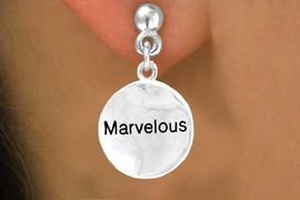 "<bR>             EXCLUSIVELY OURS!!<Br>            LEAD & NICKEL FREE!!<BR>W308SE - ""MARVELOUS"" CIRCLE<Br>   & EARRINGS FROM $4.50 TO $8.35"