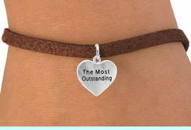 "<bR>           EXCLUSIVELY OURS!!<Br>          LEAD & NICKEL FREE!!<BR>         W309SB - ""THE MOST <BR>OUTSTANDING"" HEART CHARM<bR> & BRACELET AS LOW AS $4.50"