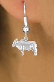 <bR>               EXCLUSIVELY OURS!!<Br>              LEAD & NICKEL FREE!!<BR> W321SE - BRAHMA BULL CHARM<Br>      & EARRING FROM $4.50 TO $8.35