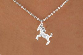 <bR>          EXCLUSIVELY OURS!!<Br>         LEAD & NICKEL FREE!!<BR> W322SN - STALLION CHARM<br>& NECKLACE AS LOW AS $4.50