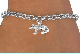 <bR>          EXCLUSIVELY OURS!!<Br>         LEAD & NICKEL FREE!!<BR>   W326SB - BADGER CHARM<Br>& BRACELET AS LOW AS $4.50