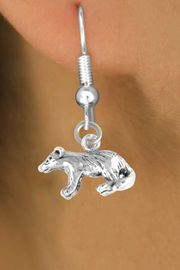 <bR>         EXCLUSIVELY OURS!!<Br>        LEAD & NICKEL FREE!!<BR>  W326SE - BADGER CHARM<Br>& EARRING FROM $4.50 TO $8.35