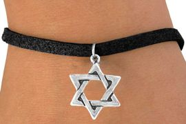 <bR>               EXCLUSIVELY OURS!!<Br>              LEAD & NICKEL FREE!!<BR>W327SB - STAR OF DAVID CHARM<Br>& BRACELET FROM $4.50 TO $8.35