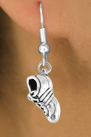 <bR>         EXCLUSIVELY OURS!!<Br>        LEAD & NICKEL FREE!!<BR>    W337SE - CLEATED SHOE<Br>& EARRING FROM $4.50 TO $8.35
