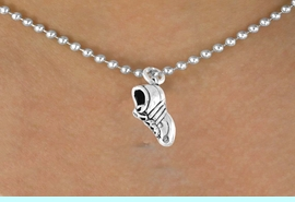 <bR>        EXCLUSIVELY OURS!!<Br>       LEAD & NICKEL FREE!!<BR> W337SN - CLEATED SHOE &<br>NECKLACE AS LOW AS $4.50