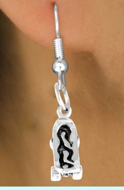 <bR>      EXCLUSIVELY OURS!!<Br>     LEAD & NICKEL FREE!!<BR>W338SE - SKATEBOARD &<Br>EARRING FROM $4.50 TO $8.35