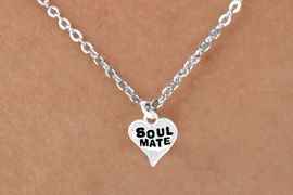 """<bR>             EXCLUSIVELY OURS!!<Br>            LEAD & NICKEL FREE!!<BR>  W342SN - """"SOUL MATE"""" HEART<br>& NECKLACE FROM $4.50 TO $8.35"""