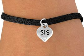 "<bR>          EXCLUSIVELY OURS!!<Br>         LEAD & NICKEL FREE!!<BR>      W345SB - ""SIS"" HEART &<Br>BRACELET FROM $4.50 TO $8.35"