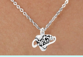 """<bR>        EXCLUSIVELY OURS!!<Br>       LEAD & NICKEL FREE!!<BR>     W353SN - """"CAPTAIN"""" &<Br>NECKLACE AS LOW AS $4.50"""