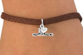 "<bR>             EXCLUSIVELY OURS!!<Br>            LEAD & NICKEL FREE!!<BR>W355SB - ""I LOVE GYMNASTICS""<Br>     BRACELET AS LOW AS $4.50"
