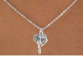 <bR>   EXCLUSIVELY OURS!! <BR>  LEAD & NICKEL FREE!! <BR> W791SN - BALLERINA <BR>    CHARM NECKLACE <br>       AS LOW AS $3.65