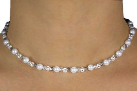 <br>              FLOWER GIRL JEWELRY<BR>               LEAD & NICKEL FREE!!<Br>W14489NEB - 3-PIECE FAUX WHITE<Br>PEARL & CLEAR FACETED MINI BEAD<Br>  NECKLACE, EARRING, & BRACELET<Br>CHILDREN'S SET FROM $14.25 TO $16.80