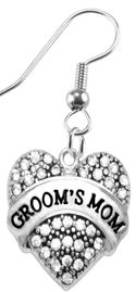 """<BR>""""GROOM'S MOM""""  EXCLUSIVELY OURS!!   <Br>               AN ALLAN ROBIN DESIGN!!   <br>                         HYPOALLERGENIC<BR>        NICKEL, LEAD & CADMIUM FREE!!   <BR>W1693E1- FROM $5.98 TO $12.85 �2015"""