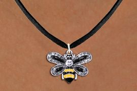 <BR>                       INSECT JEWELRY <bR>                   EXCLUSIVELY OURS!! <Br>              AN ALLAN ROBIN DESIGN!! <BR>     CLICK HERE TO SEE 1000+ EXCITING <BR>           CHANGES THAT YOU CAN MAKE! <BR>        LEAD, NICKEL & CADMIUM FREE!! <BR>     W1439SN - SILVER TONE WITH CLEAR <BR> CRYSTAL BUMBLEBEE CHARM AND NECKLACE <BR>            FROM $5.40 TO $9.85 �2013