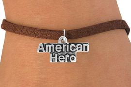 <BR>                   LEAD AND NICKEL FREE!  <BR>                   ASSEMBLED IN THE USA<BR>         CLICK HERE TO SEE 500+ EXCITING<BR>             CHANGES THAT YOU CAN MAKE!<BR>             W813SB - AMERICAN HERO CHARM <Br>           & BRACELET FROM $4.50 TO $8.35