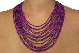 <BR>               LEAD AND NICKEL FREE<BR>     W19049NEA -  16 STRAND SEED<BR>      BEAD NECKLACE EARRING SET <BR> ASSORTMENT  FROM $11.81 TO $23.63