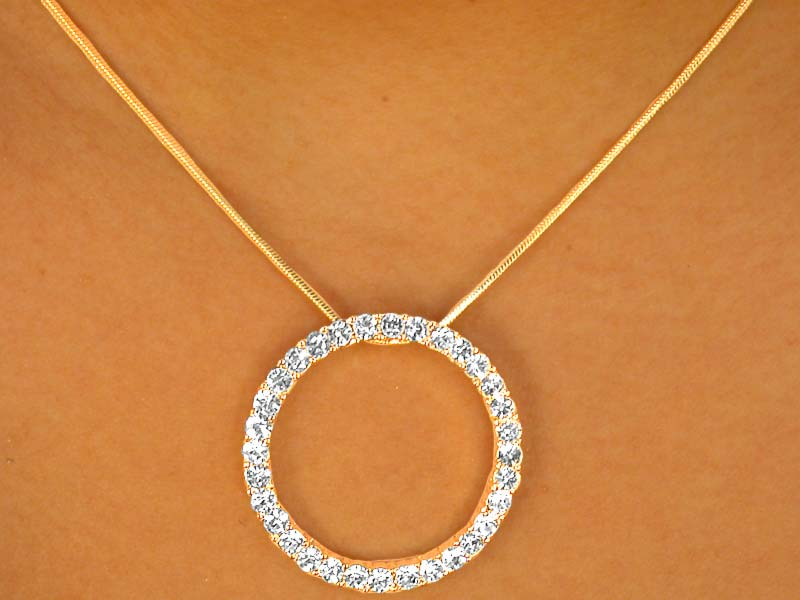 Br Lead And Nickel Free Br W6983ne As Seen On Oprah Br Gold Tone Designer Inspired Br Austrian Crystal Circle Of Love Br Necklace Earring Set Br From 11 38 To 21 00