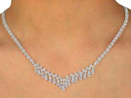 <BR>                  LEAD AND NICKEL FREE!!<BR>W9923NE - GENUINE AUSTRIAN CRYSTAL<bR>         NECKLACE & EARRING SET FROM<BR>                           $20.31 TO $37.50