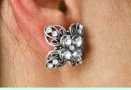 <Br>            LEAD NICKEL AND CADMIUM FREE!!<Br>       W18961EA - AUSTRIAN CRYSTAL CLOVER<Br> EARRING ASSORTMENT FROM $6.75 TO $15.00