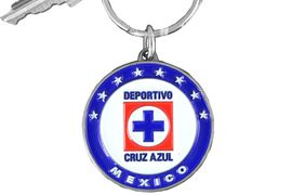 <bR>                 LEAD & NICKEL FREE!!!<br>LICENSED MEXICAN SOCCER LEAGUE!!<Br>   W16034KC - CRUZ AZUL KEY CHAIN<Br>                 FROM $5.06 TO $11.25