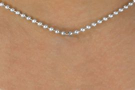 "<Br>  ADJUSTABLE BALL CHAIN LEAD & NICKEL FREE!!<Br>                                   MADE IN THE USA<BR>                           W15717N6 - 24"" BALL CHAIN<br>                        NECKLACE  �2015  $4.83 Each    <BR>N6"