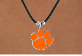 <Br>                   LEAD & NICKEL FREE!!<Br>OFFICIALLY LICENSED COLLEGE LOGO!!<Br>      W15182N - CLEMSON UNIVERSITY<Br>    TIGERS NECKLACE AS LOW AS $6.30